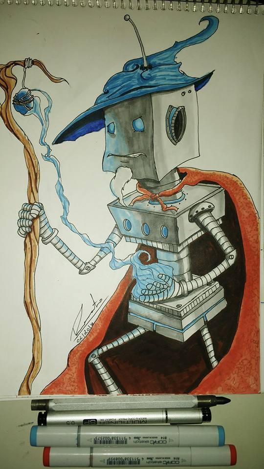 Sorcerer by RenatoChaves