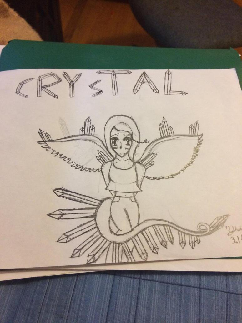 Crystal (OC) by WaterPhoenix123