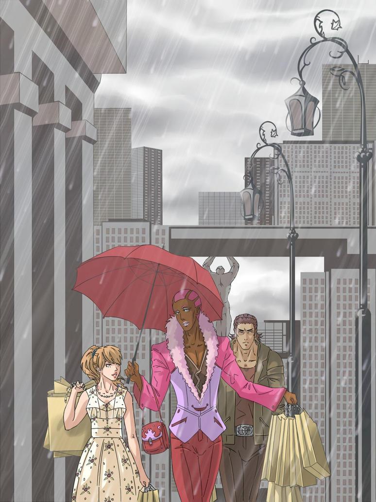 Rain by Tenzen-chan