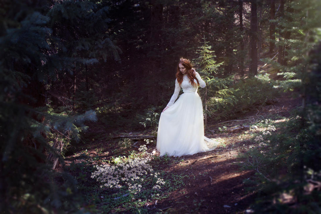 Princess In The Forest by Aceroset4