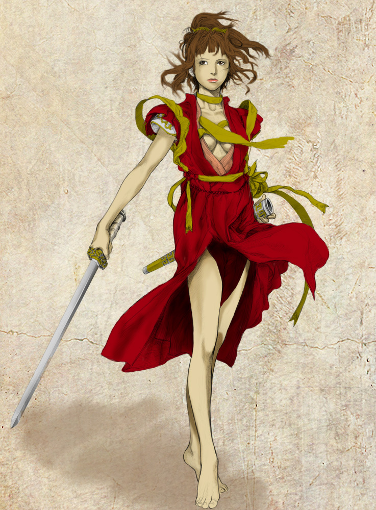 Ancient Warrior by rankurogane
