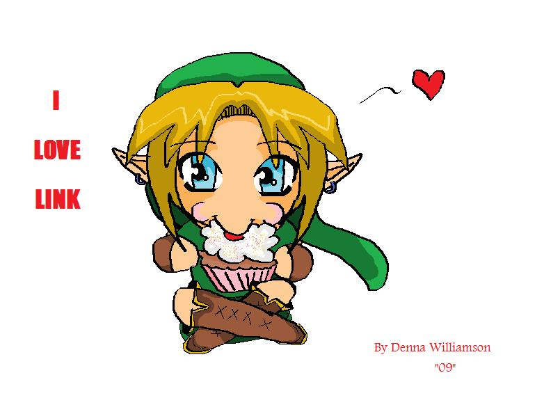 Link is soo cute by DennaWilliamson