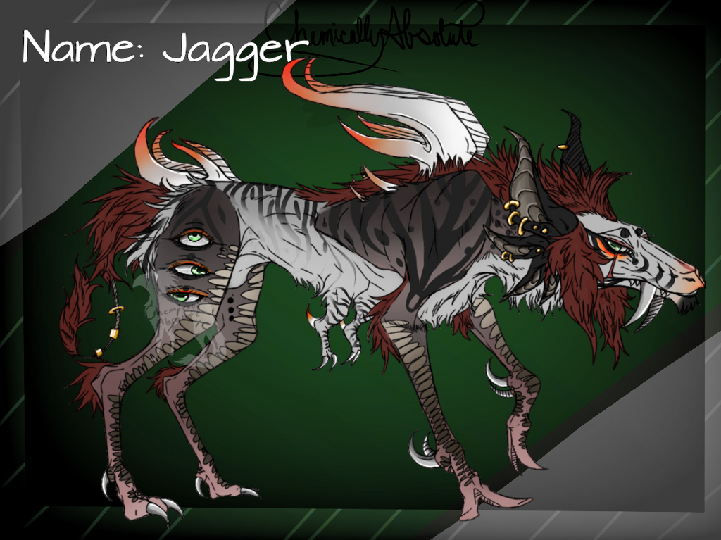 Oc reference sheet: Jagger by ChemicallyAbsolute