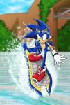 Sonic Riders - Sonic