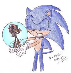 Sonic Magic Gloves by WaterJewelEmi