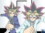Yami and Yugi 'from epi 147'