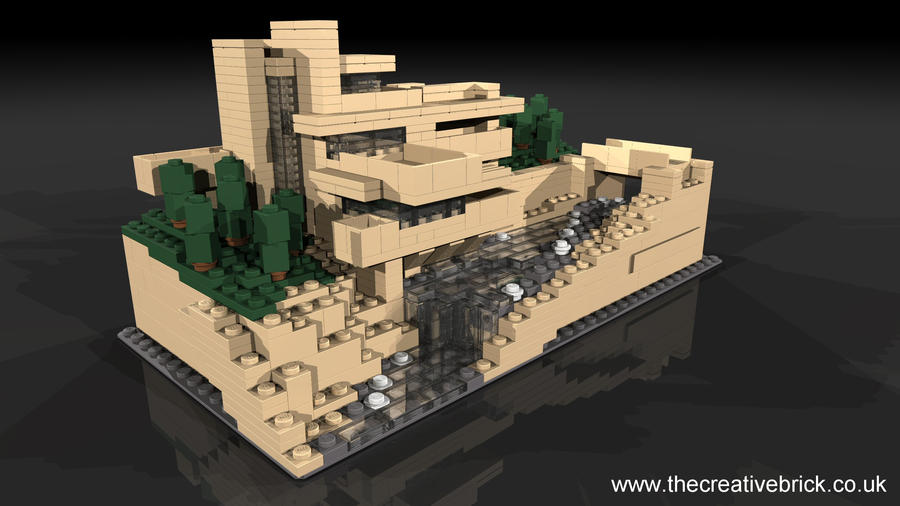 Lego set 21005 falling water by thecreativebrick on deviantart - Falling waters lego ...