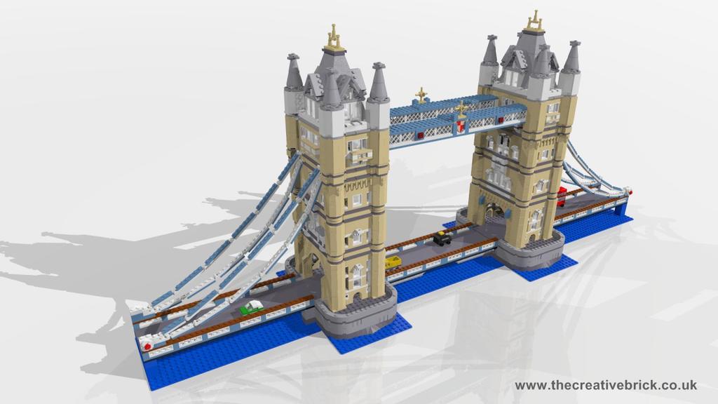 LEGO Set 10214 Tower Bridge (Advanced Models) by thecreativebrick on DeviantArt