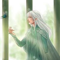 Haldir : Spring by The-Gwyllion