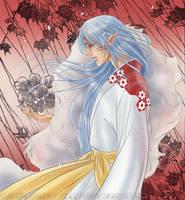 Commish : Sesshoumaru by The-Gwyllion
