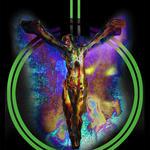 Power Symbol Crucifixion by joshthecartoonguy