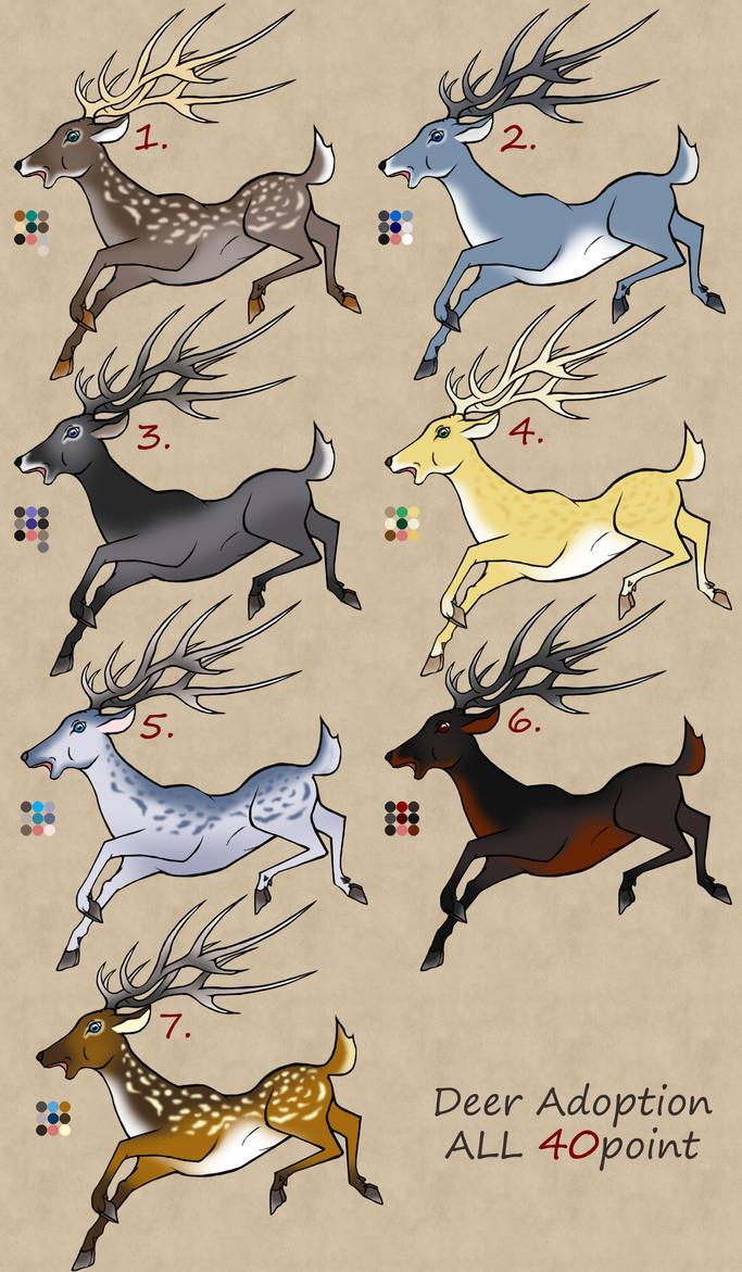 Discount Sale Deers! by RyuAmano