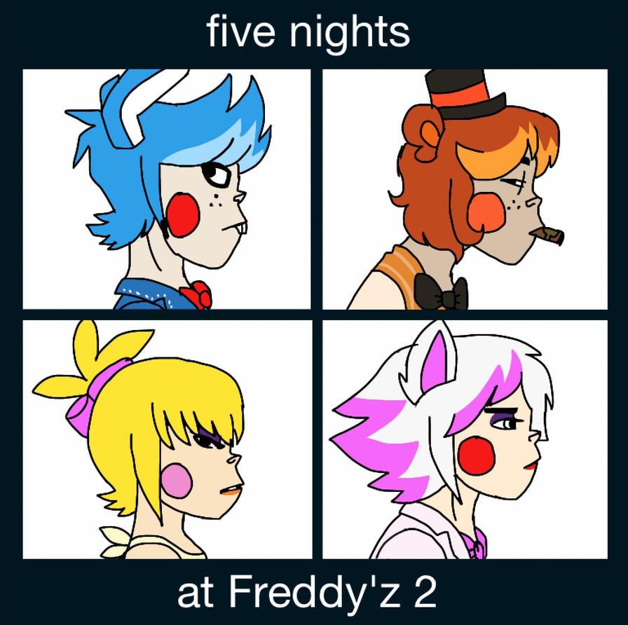 Demon Freddy Toys : Fnaf in demon days the toy animatronics by