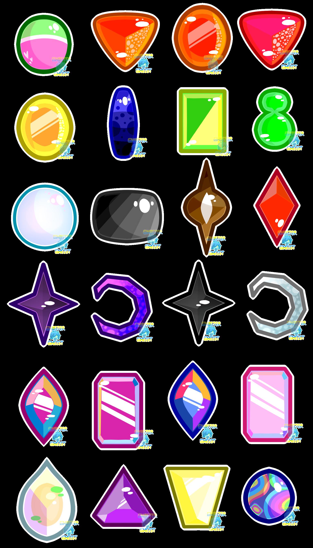 SU: List of My Gems by GhosterGheist on DeviantArt
