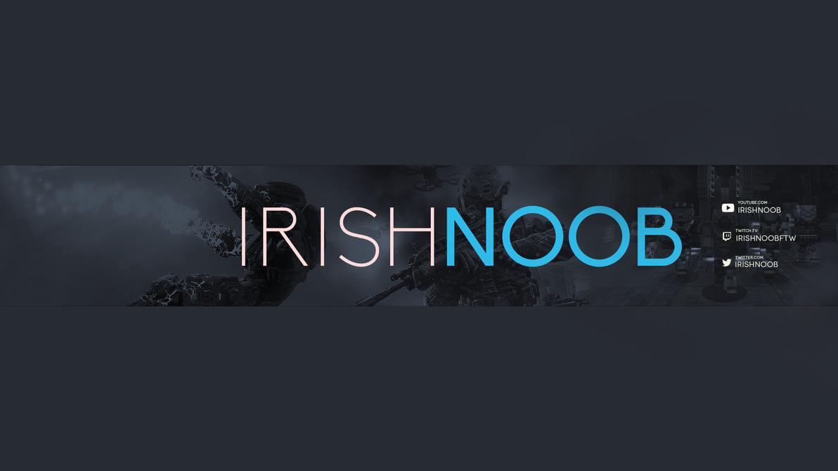 Irish Noob Youtube Banner by smcveigh92
