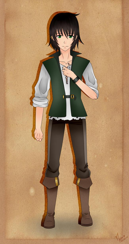 Keith Ahmes, the navigator by AkaneMichiko