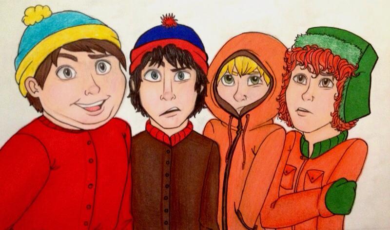 South Park Boys! by caligrl7072