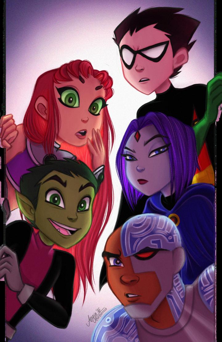 Deviant Art Teen Titans 49