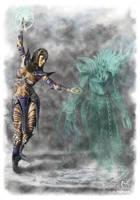 Guild Wars Ritualist Morgaine