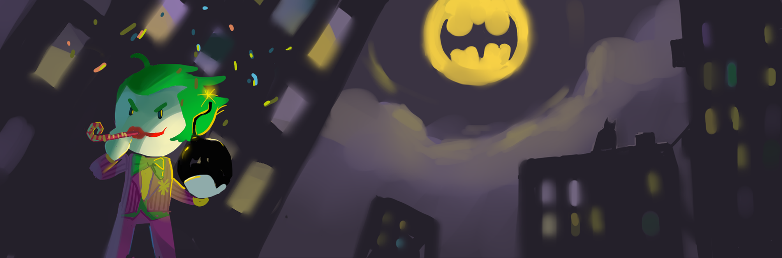 Batman and Joker scribblenauts by white-etihw