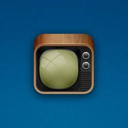 TV iOS Icon by marc2o