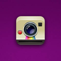 Polaroid Cam iOS Icon
