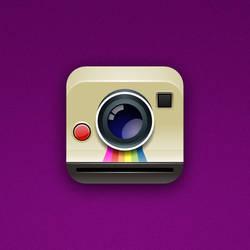 Polaroid Cam iOS Icon by marc2o