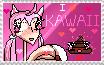 i love kawaii stamp by AnimuKawaiiDesuBases