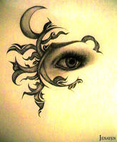 The Moon Eye by Jenayen