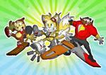 Sonic Boom Riders