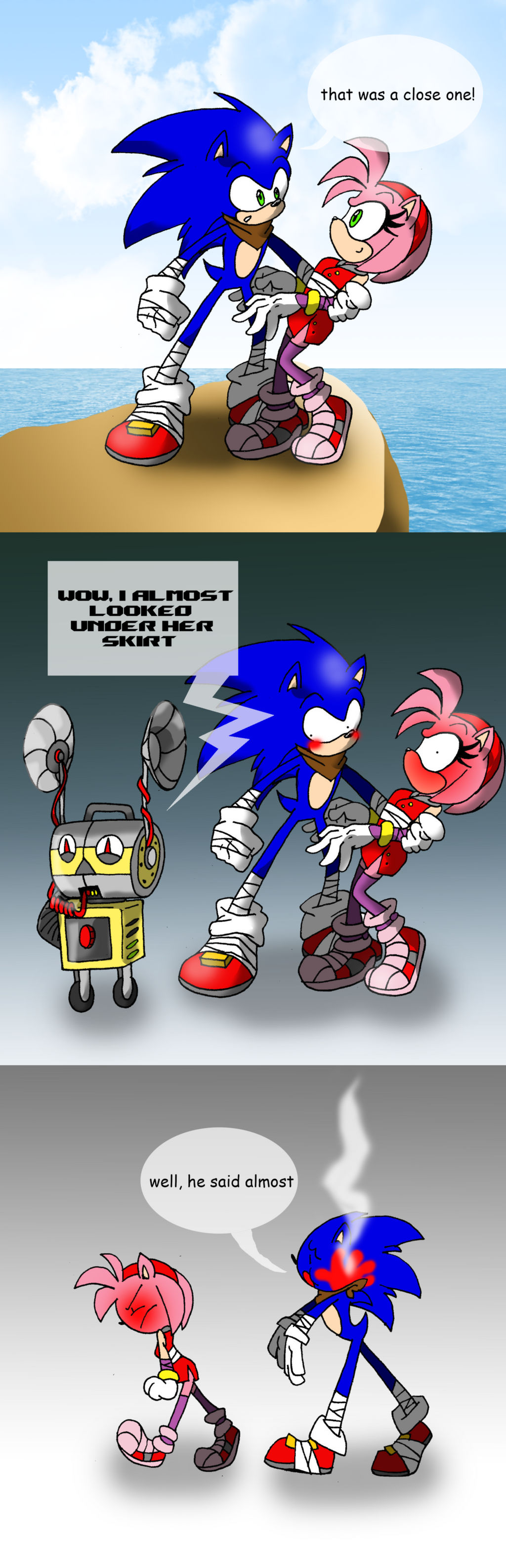 Sonic the Hedgehog Funnies favourites by HyperSonicXdA on ...
