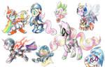 Megapony Doodles