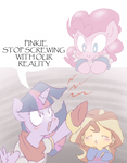 Pinkie Doesn't Make Any Sans