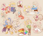 Ponytale Doodles