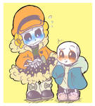 Sansy and Colly clothes swap