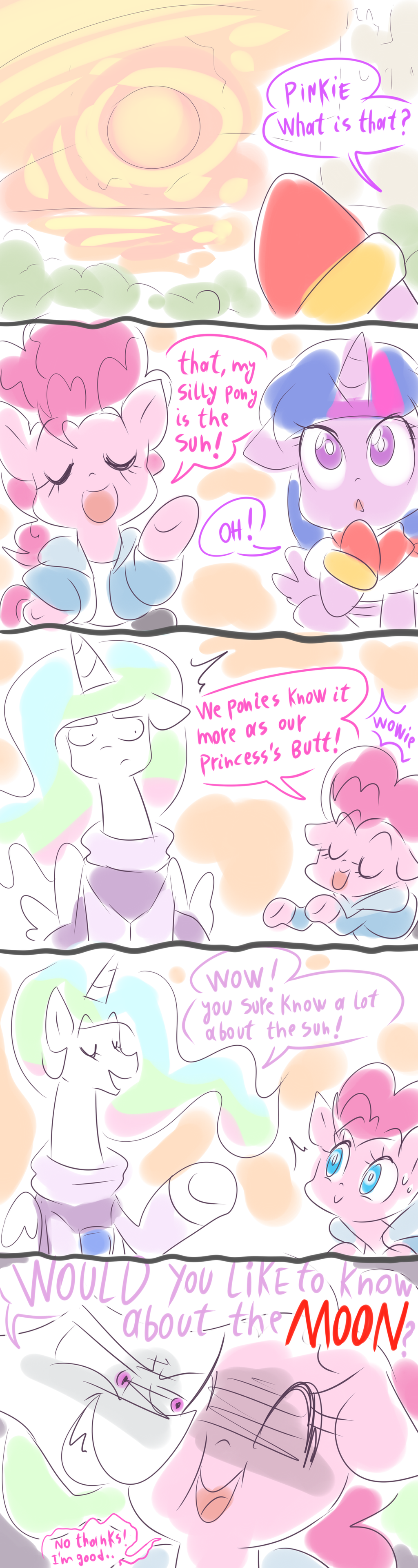 The Underpones Meet The Surface by thegreatrouge