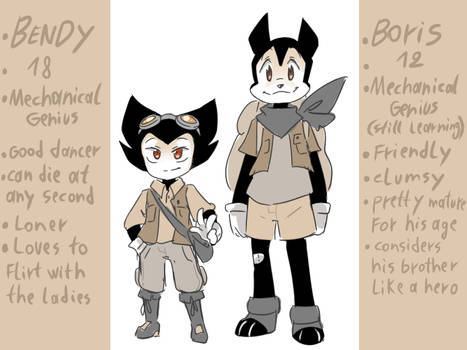 Bendy and Boris: The quest for the ink machine