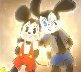 Mouse and Bunny (babtqftim)