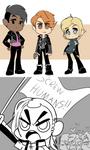 Genderbent Jericho Crew