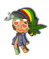Weed Cookie (joke Cookie Run Original Character) by thegreatrouge