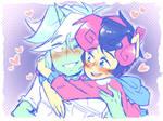 Lyra And Bonbon (mlp r63)