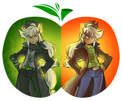 Rotten And Apple