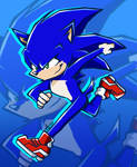 Paramount Sonic In Sonic Battle Style