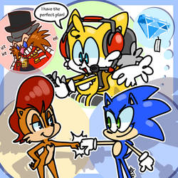 The Sonic Stickmin Collection