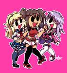 FNF Style Caramelldansen Girls