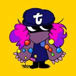 tumblr Social Media Mascot