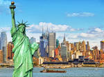 New-york-city-skyline-and-statue-of-liberty