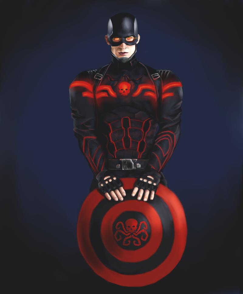 Captain Hydra by KuroiKetsurou on DeviantArt
