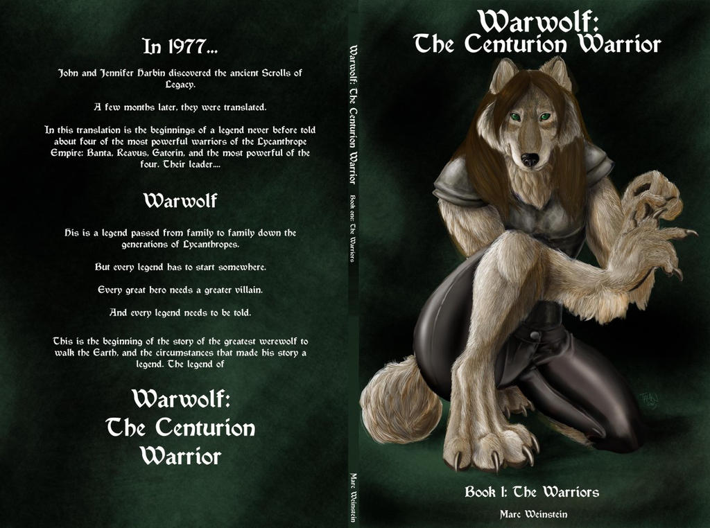 Warwolf Book Cover by WarwolfPrime