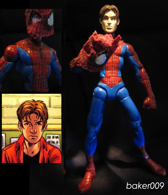 Ultimate Spider-Man unmasked by Baker009